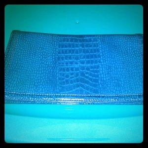 Genuine leather pocketbook/clutch